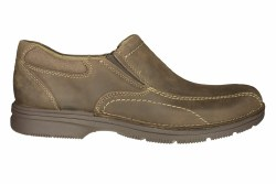 CLARKS Senner Pine chocolate Mens Casual Dress Slip-On Shoes 11.5