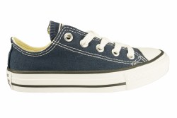 CONVERSE All Star Chuck taylor ox navy Little Kid's Classic Casual Shoes 011
