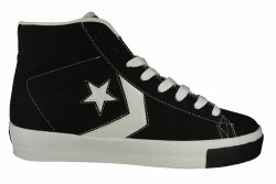 CONVERSE Attache Hi black/white Mens Lifestyle Shoes 12.0