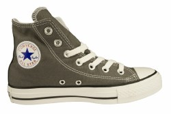 CONVERSE Chuck Taylor All Star hi charcoal Unisex Classic Casual Shoes 03.5
