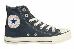 CONVERSE Chuck Taylor All Star hi navy Unisex Classic Lifestyle Shoes 09.5