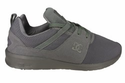 DC Heathrow grey Mens Skate Shoes 08.5