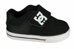 DC Pure V II black/white Toddlers Skate Shoes 10.0