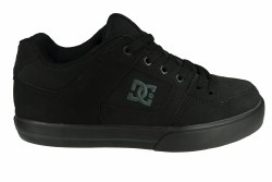 DC Pure black/pirate black Mens Skate Shoes 08.0