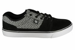 DC Tonik SE black/black/white Mens Skate Shoes 10.0