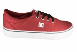 DC Trase TX dark red Mens Skate Shoes 10.5