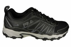 FILA AT Peake 18 black/castlerock/silver Mens Trail Running Shoes 08.0