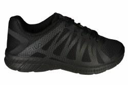 FILA Memory Finition black/black/black Mens Running Shoes 10.5