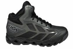 FILA Torranado castlerock/black/metallic silver Mens Basketball Shoes 09.5