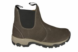 HI-TEC Altitude Chelsea Lite I dark chocolate Mens Slip-On Hiking Boots 08.5