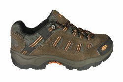 HI-TEC Bandera Low WP taupe/gold Mens Waterproof Hiking Shoes 07.0