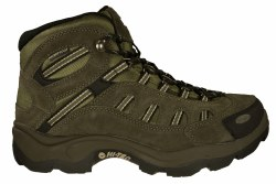 HI-TEC Bandera Mid WP brown/olive/snow Mens Waterproof Hiking Boots 07.0