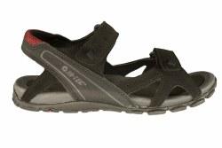 HI-TEC Laguna Strap black/charcoal/port Mens River Sandals 13.0