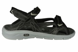 HI-TEC Soul-Riderz Strap black/charcoal/grey Womens Sandals 08.0