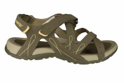 HI-TEC Waimea Falls taupe/golden haze Womens Sandals 06.0