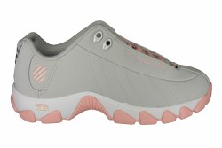 K-SWISS ST329 CMF gull grey/crystal rose Womens Training Shoes 08.0
