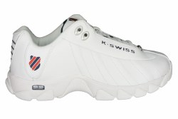 K-SWISS ST 329 CMF wide white/navy/red Mens Training Shoes 09.5