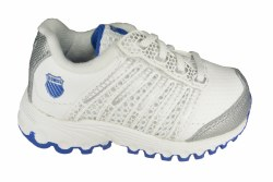 K-SWISS Tubes Run 100 white/silver/blue Toddlers Running Shoes 05