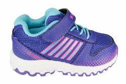 K-SWISS X-160 VLC liberty/neon pink/bachelor blue Toddlers Running Shoes 03.0