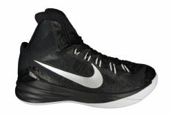 NIKE Hyperdunk 2014 TB black/metallic silver/white Mens Basketball Shoes 11.0
