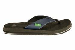 SANUK Beer Cozy navy Mens Flip-Flop Sandals 07