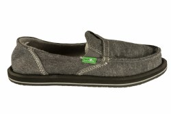 SANUK Pick Pocket Fleece charcoal Womens Sidewalk Surfers 08