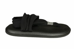 SANUK Yoga Sling 2 black Womens Sandals 05.0