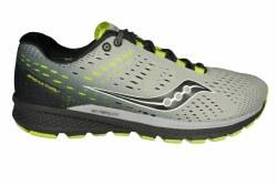 SAUCONY Breakthru 3 grey/black/citron Mens Running Shoes 09.5