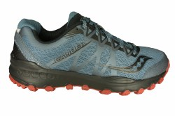 SAUCONY Grid Caliber TR grey/red Mens Trail Running Shoes 08.5