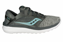 SAUCONY Kineta Relay heather/grey Womens Running Shoes 08.0