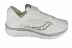 SAUCONY Kineta Relay white/grey Womens Running Shoes 07.5