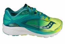 SAUCONY Kinvara 7 teal/citron Womens Running Shoes 07.0