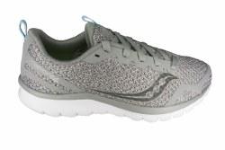 SAUCONY Liteform Feel grey/grey Womens Running Shoes 07.5
