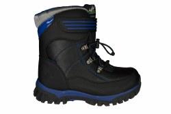 SKECHERS Arktic black/royal Big Kids Thermal Boots 5.0