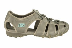 SKECHERS Bikers-Expedition grey Women's Closed Toe Sandals  06