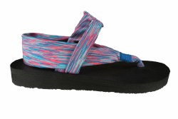 SKECHERS Cali Meditation-Serene blue/pink Womens Sandals 07.0