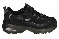 SKECHERS D'Lites-Biggest Fan wide black Womens Training Shoes 05.0