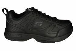 SKECHERS Dighton-Bricelyn wide black Womens Work Shoes 06.0