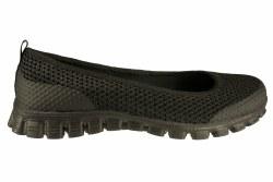 SKECHERS EZ Flex 2-Sweet & Chic black Women's Slip-On Casual Shoes 08.0