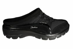 SKECHERS Easy Going-Composure black Womens Lifestyle Shoes 08.0