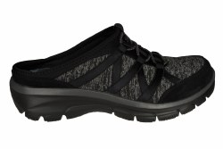 SKECHERS Easy Going-Rolling black Womens Lifestyle Shoes 07.5