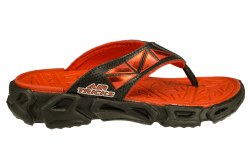 SKECHERS Fierce Flopz-Babel black/red Little Kids Thong Sandals 011