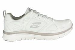 SKECHERS Flex Advantage-Even Strength white Mens Training Shoes 08.0