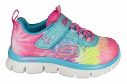 SKECHERS Flex Appeal-Hot Tropic turquoise/multi Toddlers Training Shoes 02.0