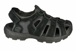 SKECHERS Garver-Selmo black Mens Sandals 08.0