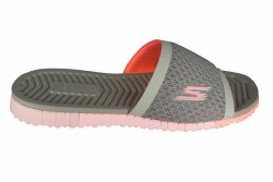 SKECHERS Go Flex-Cheer grey/pink Womens Sandals 06.0