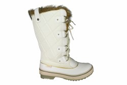 SKECHERS Highlanders-Cottontail winter white Womens Waterproof Boots 08.0