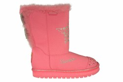SKECHERS-S Lights-Keepsakes-Fufu Baby neon pink Little Kids Boots 3.0