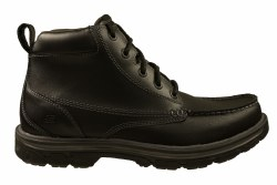 SKECHERS Segment-Barillo black Men's Boots 08.0