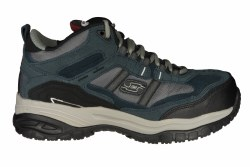 SKECHERS Soft Stride-Canopy navy/grey Mens Work Shoes 08.0